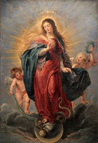 Unbefleckte Empfängnis, Peter Paul Rubens, Prado